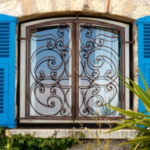סורג לחלון כפרי מרוקאי